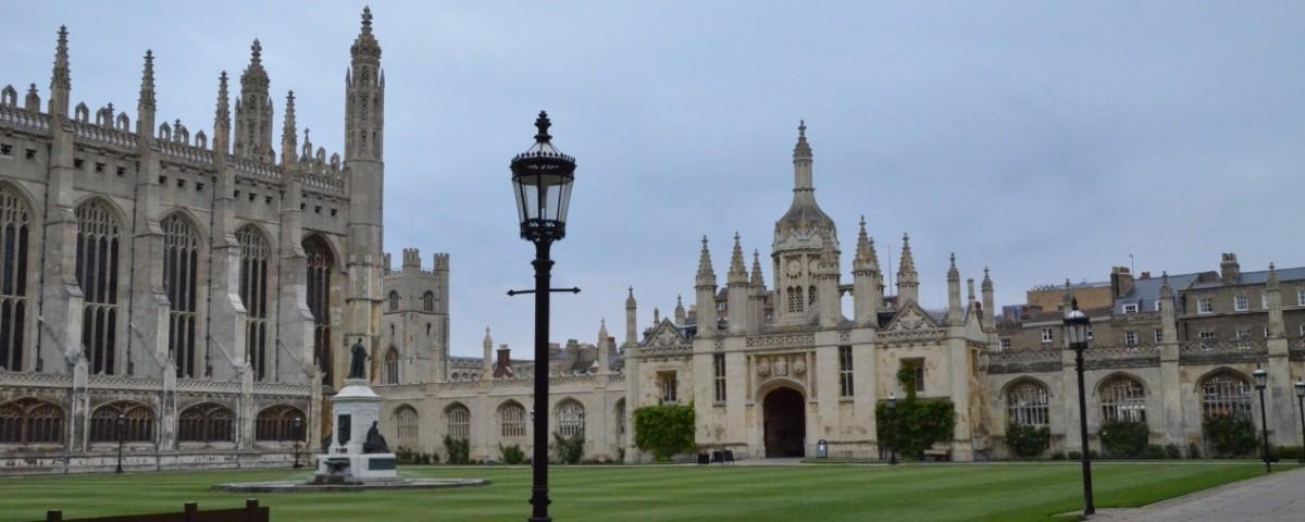 英國劍橋大學參訪